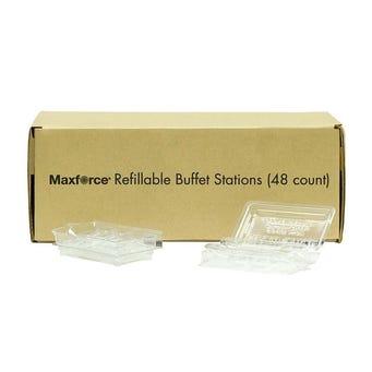 MAXFORCE REFILLABLE BUFFE T STATION 48/BX