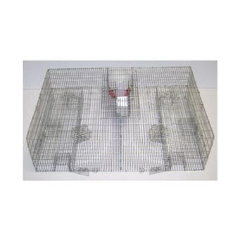 SPARROW TRAP WITH FOOD & WATER 32X24X10