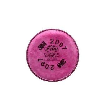 3M 2097 P100 OV PARTICULATE FILTER 2/PK (50PK/CS)