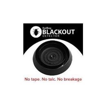 SENSCI BLACKOUT BED BUG TRAP 12/PK 4PK/CS