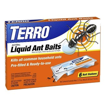 TERRO LIQUID ANT BAITS 6 STATIONS/PACK PCP# 30897