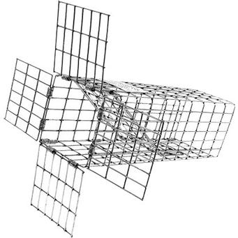 TOMAHAWK 1 WAY E40 EXCLUDER TRAP 10X4X4