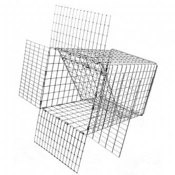 TOMAHAWK 1 WAY E80 EXCLUDER TRAP 14X8X8
