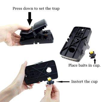 TRAPPER RAT TRAP BAIT CUP 25/BG
