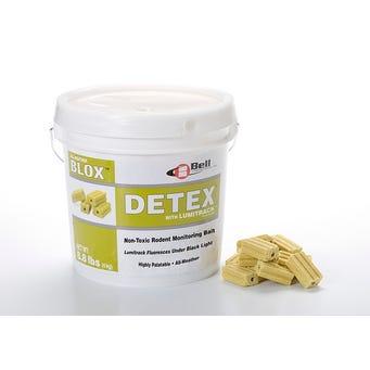DETEX BLOX WITH LUMITRACK 4KG/PL 2PL/CS 993000