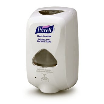 PURELL TFX TOUCH FREE DISPENSER GRAY 12/CS 2720-12-CAN00