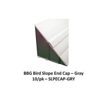 BIRD SLOPE END CAP GRAY 10/BG