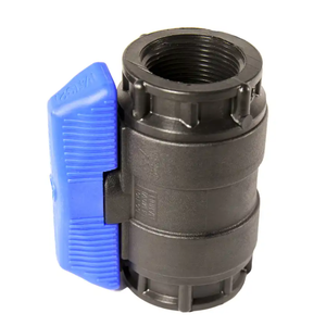 """1-1/4"""" POLY BALL VALVE - IS 5440600"""