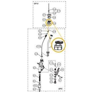 TIP HOLDER WITH GASKET 500-012-030