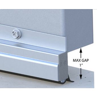 Xcluder Low Profile Door Sweep - 36-Inch, Aluminum