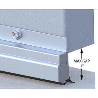 Xcluder Low Profile Door Sweep - 48-Inch, Aluminum