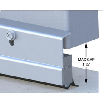 Xcluder Standard Door Sweep - 36-Inch, Aluminum