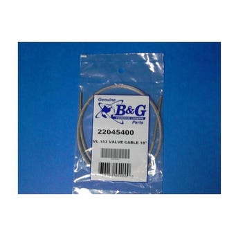 """VALVE CABLE 18"""" VC-153 FOR EXTENDA-BAN 22045400"""