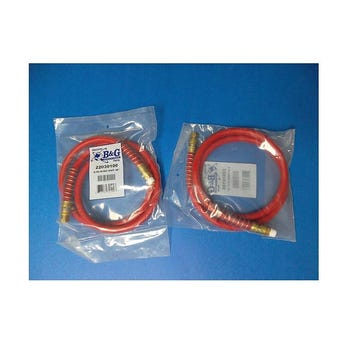 """48"""" RED HOSE D-50 FOR STEEL SPRAYERS"""