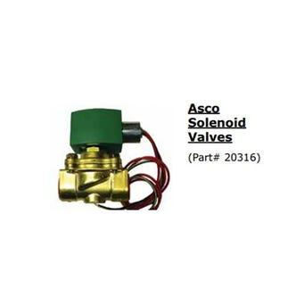 """ASCO 8210G009 3/4"""" 12V SOLENOID VALVE"""