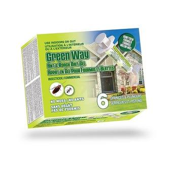 GREEN WAY ANT ROACH GEL 1.5OZ/TB 6 TUBE/BX 8BX/C PCP# 30375